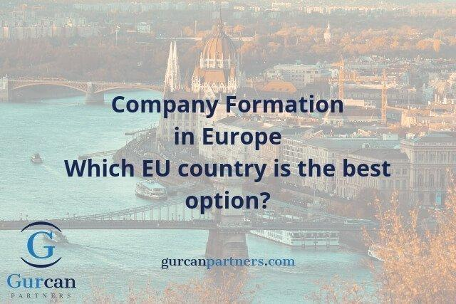 Company Formation in Europe