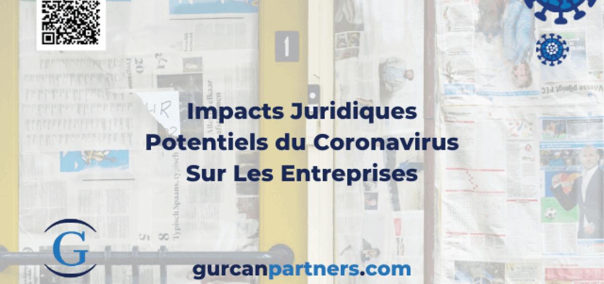 Impacts Juridiques du Coronavirus