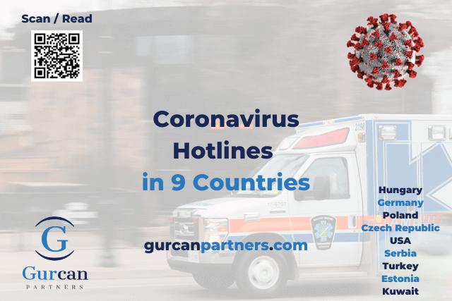 Coronavirus Hotlines