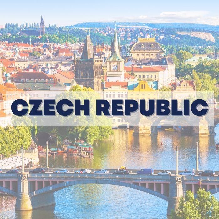 Czech Republic Çekya Prag